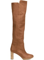 Maiyet 'Reese' Knee High Boots Brown
