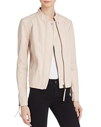 Free People Clean Vegan Faux Leather Jacket Rose