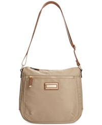 Calvin Klein Nylon Messenger Bag Light Khaki