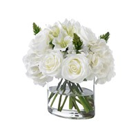 Diane James Mixed White Bouquet