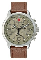 Swiss Military Hanowa Arrow Chronograph Watch Darkbrown Dark Brown