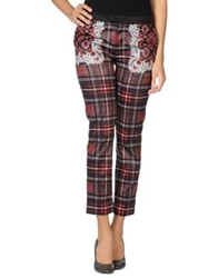 Emma Cook Casual Pants Brick Red