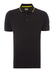 Barbour International Polo Black