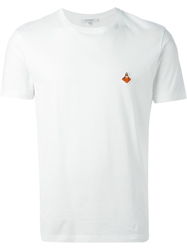 Carven Traffic Cone Embroidered T Shirt White