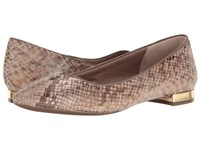 Rockport Total Motion Adelyn Ballet Nude Am Lux Women's Dress Flat Shoes Brown
