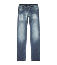 Armani Jeans Extra Slim Washed Male Denim