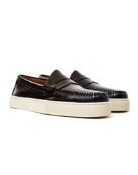 G.H. Bass And Co. Weejun Larson Moc Penny Loafer Black