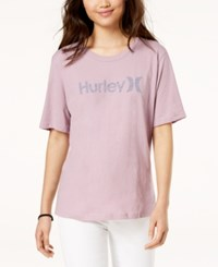 Hurley Juniors' One And Only Perfect Crew T Shirt Pink