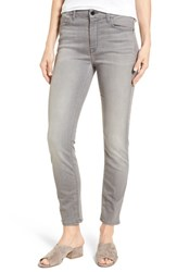Jen7 Stretch Ankle Skinny Jeans Riche Touch Marble Grey
