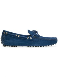 Car Shoe Slip On Loafers Blue
