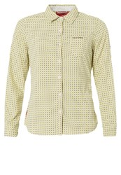 Craghoppers Long Sleeved Top Citronella Comb Yellow