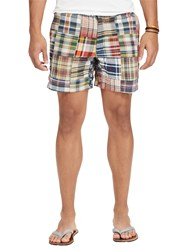 Ralph Lauren Polo Classic Fit Polo Prepster Shorts Madras Chambray