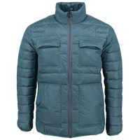 Lords Of Harlech Rock Jacket In Teal Blue Green