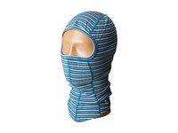 Smartwool Nts Mid 250 Pattern Balaclava Glacial Blue Heather Cold Weather Hats