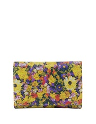 Hobo Leather Snap Button Wallet Daisy Floral