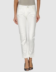 Piazza Sempione Denim Pants Ivory