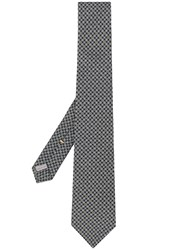 Canali Printed Tie Green