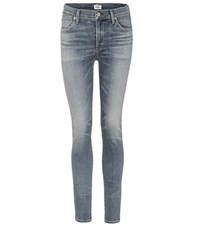 Citizens Of Humanity Rocket High Waisted Skinny Jeans Blue