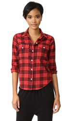 Sundry Double Pocket Shirt Tulip