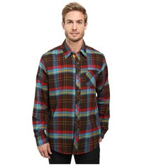 Marmot Anderson Flannel Long Sleeve Shirt Rich Brown Men's Long Sleeve Button Up