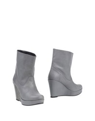 Fifth Avenue Shoe Repair Ankle Boots Grey