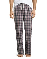 Psycho Bunny Plaid Woven Lounge Pants Aluminum Port Plaid