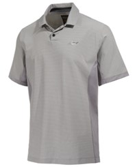 Greg Norman For Tasso Elba Men's Pattern Blocked Polo Only At Macy's Silverspoon