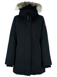 Canada Goose Fur Collar Parka Black