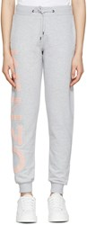 Kenzo Grey Cotton Track Pants
