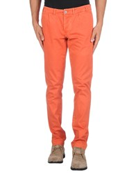 Jaggy Trousers Casual Trousers Men Rust