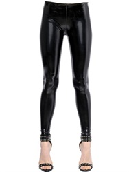Philipp Plein Patent Leather Effect Leggings