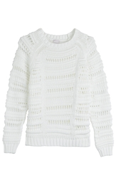 Lala Berlin Cotton Blend Knit Pullover