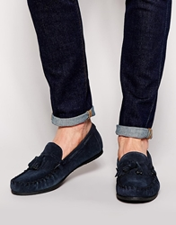 Frank Wright Tassle Loafer Navy