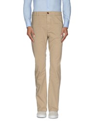 Closed Trousers Casual Trousers Men Sand