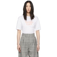 See By Chloe White Girl T Shirt