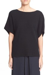 Women's Helmut Lang Cashmere And Linen V Back Sweater