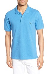 Rodd And Gunn Men's 'The Gunn' Pique Sports Fit Cotton Polo Cornflower