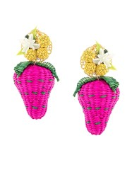 Mercedes Salazar Wild Strawberries Earrings 60