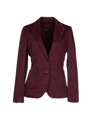Basicon Suits And Jackets Blazers Women Maroon