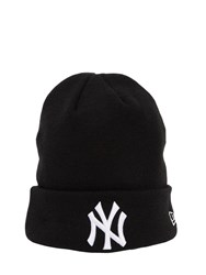 New Era League Essential Ny Yankees Beanie Hat Black