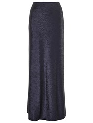 Phase Eight Sequin Shimmer Maxi Skirt Midnight