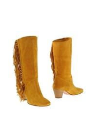 Jfk Footwear Boots Women Ochre