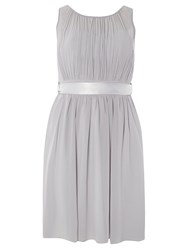 Dorothy Perkins Showcase Beth Prom Dress Grey