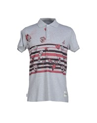 Blomor Topwear Polo Shirts Men Grey