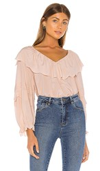 Joie Brennt Blouse In Pink. Pink Sky