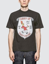 Human Made Black 'Curry Up' T Shirt