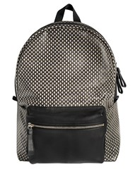 Alexander Mcqueen Skull Printed Coated Canvas Backpack