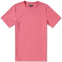 Barbour Garment Dyed Tee Pink