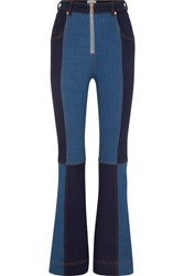 Alice Mccall Hometown Patchwork Flared Jeans Mid Denim