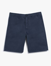 Norse Projects Aros Light Twill Shorts In Navy